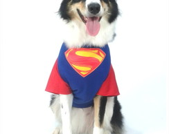 Camiseta Pet Super Homem (MM)