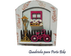 Quadrinho Bike com Flores