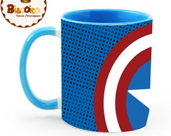 Caneca Colorida Marvel