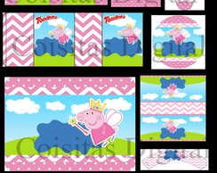 Kit Digital Peppa Pig Princesa