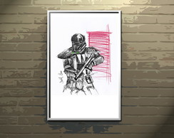 Poster A4 Death Trooper