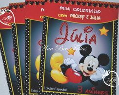 Revistinha Colorir- Mickey Mouse