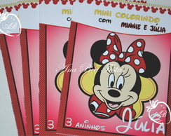 Revistinha Colorir- Minnie Mouse