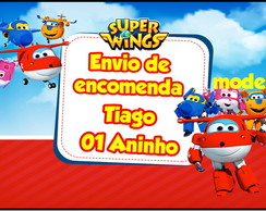 Rótulo Lata de Leite 800g - Super Wings
