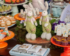 Chocolate bordado Peter Rabbit