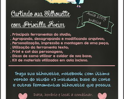 Workshop Curtindo sua Silhouette