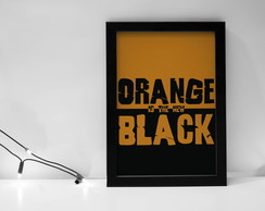 Quadro Orange is the new black