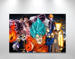 Placa Decorativa Animes mistos