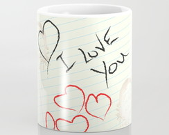 Caneca I Love You!