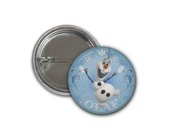 Botton Olaf - Frozen 2,5cm