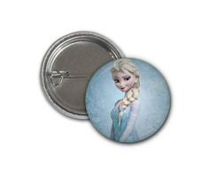 Botton Elsa - Frozen - 2,5cm