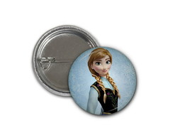 Botton Anna - Frozen - 2,5cm