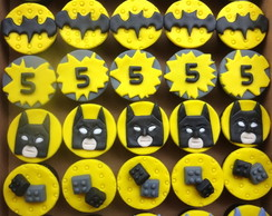 Mini cupcake Batman Lego