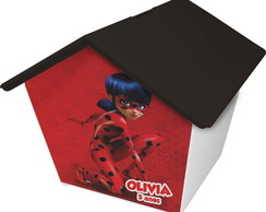 Casinha Cofre Lady Bug