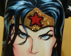 Tshirt Wonder Womam face