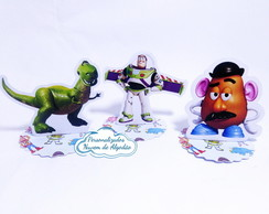 Aplique 3D - Toy Story +TEMAS