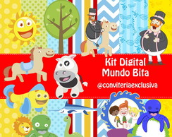 KIT DIGITAL BITA E OS ANIMAIS