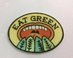PATCH TUMBLR EAT GREEN TERMOCOLANTE