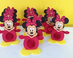 Porta bombom Minnie e Mickey