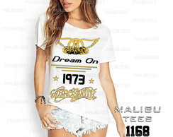 T-shirt aerosmith dream onbanda de rock