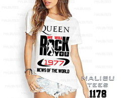 T-shirt queen we will rock you mercury