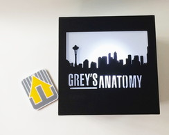 LUMINÁRIA LED - GREY'S ANATOMY