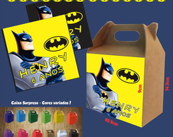 Caixa Surpresa Colorida Batman