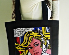 Bolsa retrô Pop Art