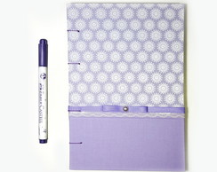 Sketchbook A5 Roxo
