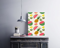 "Placa decorativa ""Frutas"""