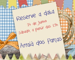 Arte para Reserve a Data, Save the Date