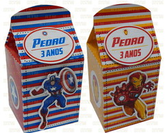 Mini Caixa Milk - Vingadores