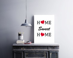 "Placa decorativa ""Home Sweet Home"""