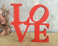 LOVE New York letras decorativas de MDF