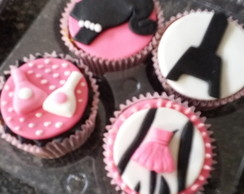 Topper doces Tema Barbie