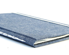 Caderno A5 - Jeans