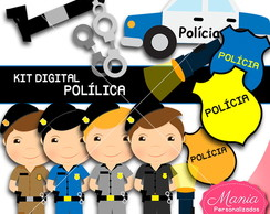 Kit digital polícia cute !