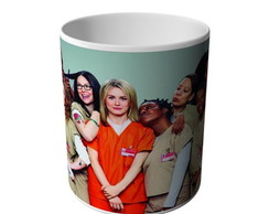 CANECA ORANGE IS THE NEW BLACK -8784