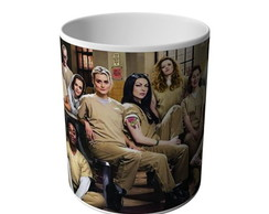CANECA ORANGE IS THE NEW BLACK 1-8785