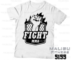 camiseta masculina academia fight 5155