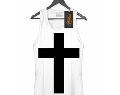 Regata Feminina Black cross