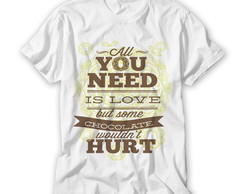 Camiseta Al You Need is Love