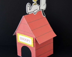 Caixa Home Sweet Home Snoopy