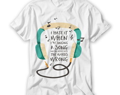 Camiseta I'm Singing a Song
