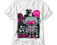 Camiseta Divertida Bad Monkey