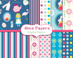 Papel Digital Alice 01
