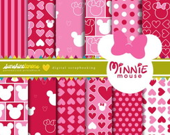 Kit Papel Digital minnie rosa 01