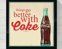 Quadro Decorativo Coke 30x30