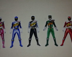Power Rangers tags 9 cm