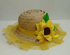 ... Chapéu de Palha decorado 89e220fd6b7